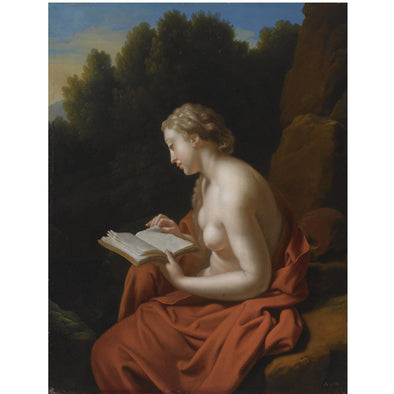 Adriaen van der Werff - The penitent Mary Magdalene - Get Custom Art