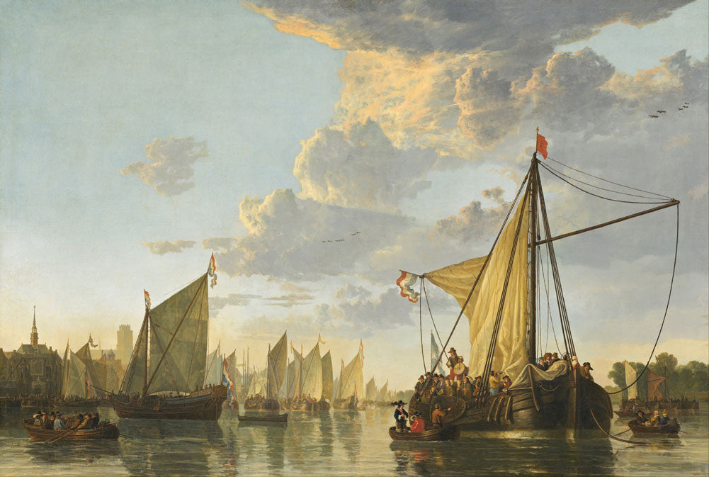 Aelbert Cuyp - The Maas at Dordrecht