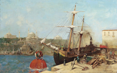 Alberto Pasini - At the Golden Horn - Get Custom Art