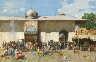 Alberto Pasini - Market Day - Get Custom Art