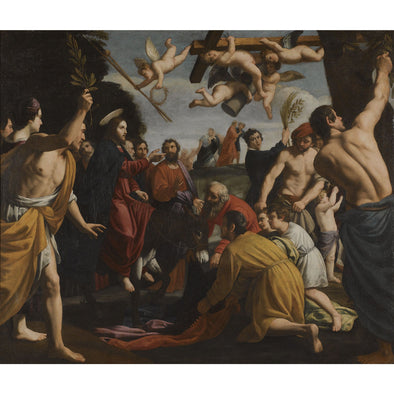 Alessandro Turchi (L'Orbetto) - He Triumphal Entry of Christ in Jerusalem - Get Custom Art