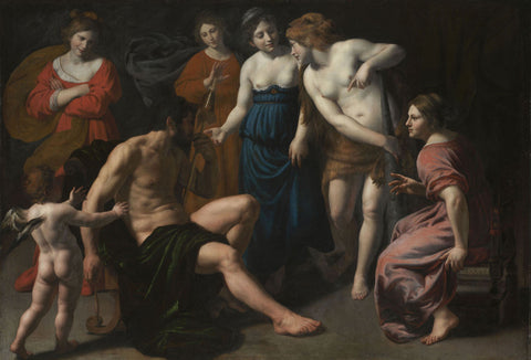 Alessandro Turchi (L'Orbetto) - Hercules and Omphale