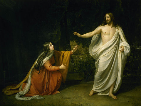 Alexander Andreyevich Ivanov - Christ's Appearance to Mary Magdalene after the Resurrection