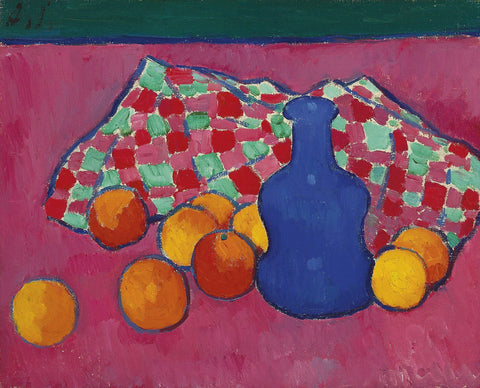 Alexej von Jawlensky - Blue Vase with Oranges