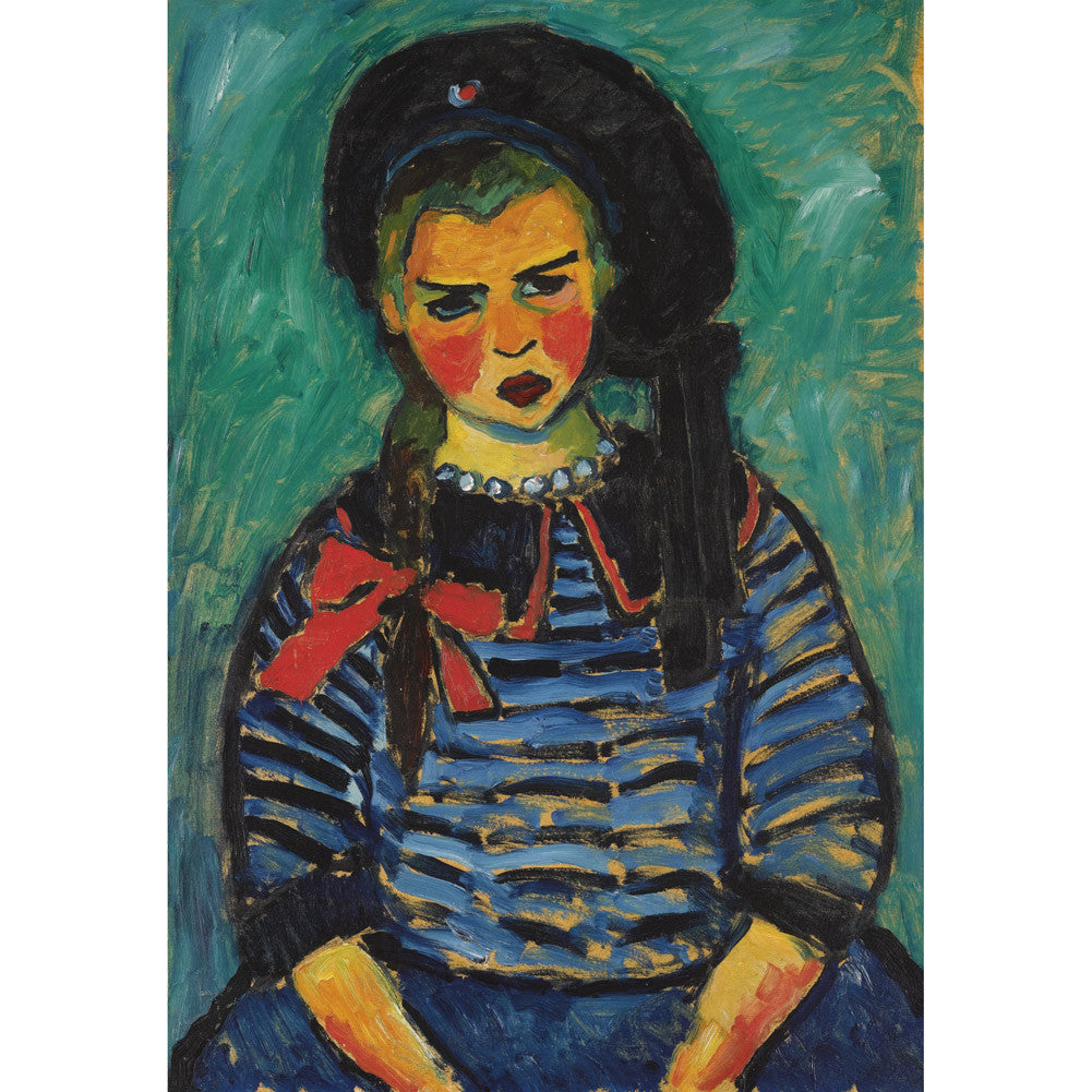 Alexej von Jawlensky - Girl with Red Ribbon