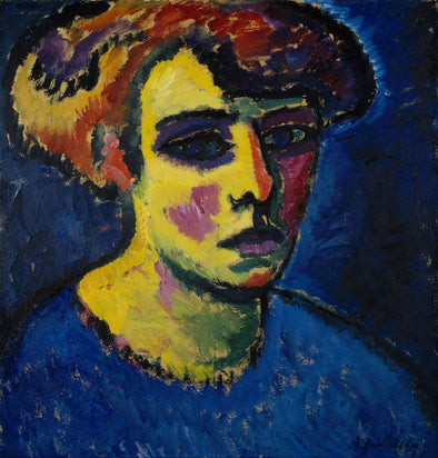 Alexej von Jawlensky - Head of a Woman