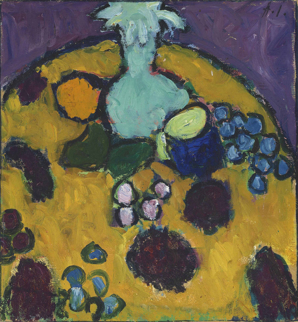 Alexej von Jawlensky - Still Life with Embroidered Blanket