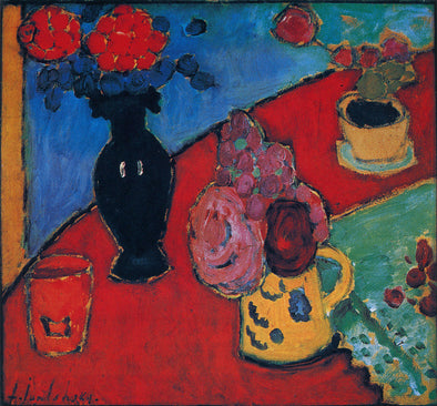 Alexej von Jawlensky - Still Life with Vase and Jug