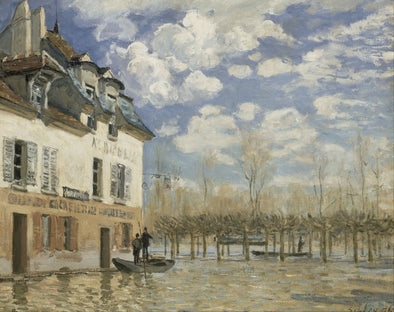 Alfred Sisley - Flood at Port Marly - Get Custom Art