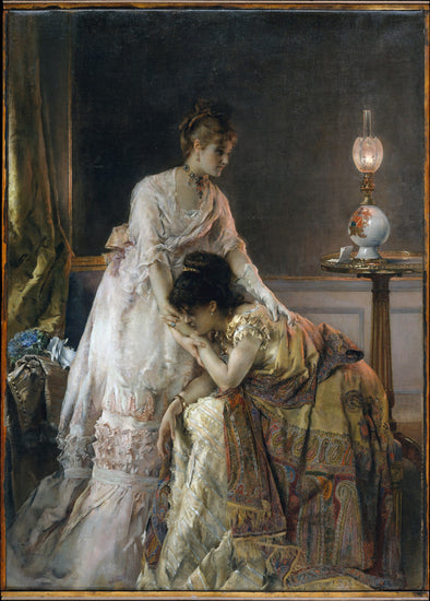 Alfred Stevens - After the Ball - Get Custom Art