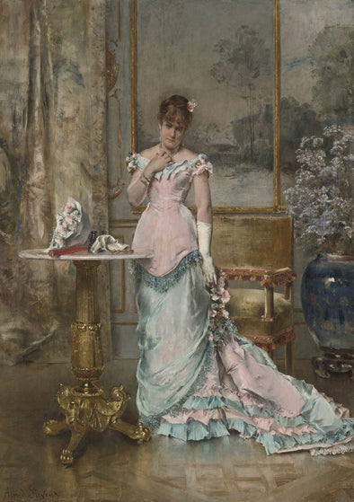 Alfred Stevens - Before The Ball - Get Custom Art