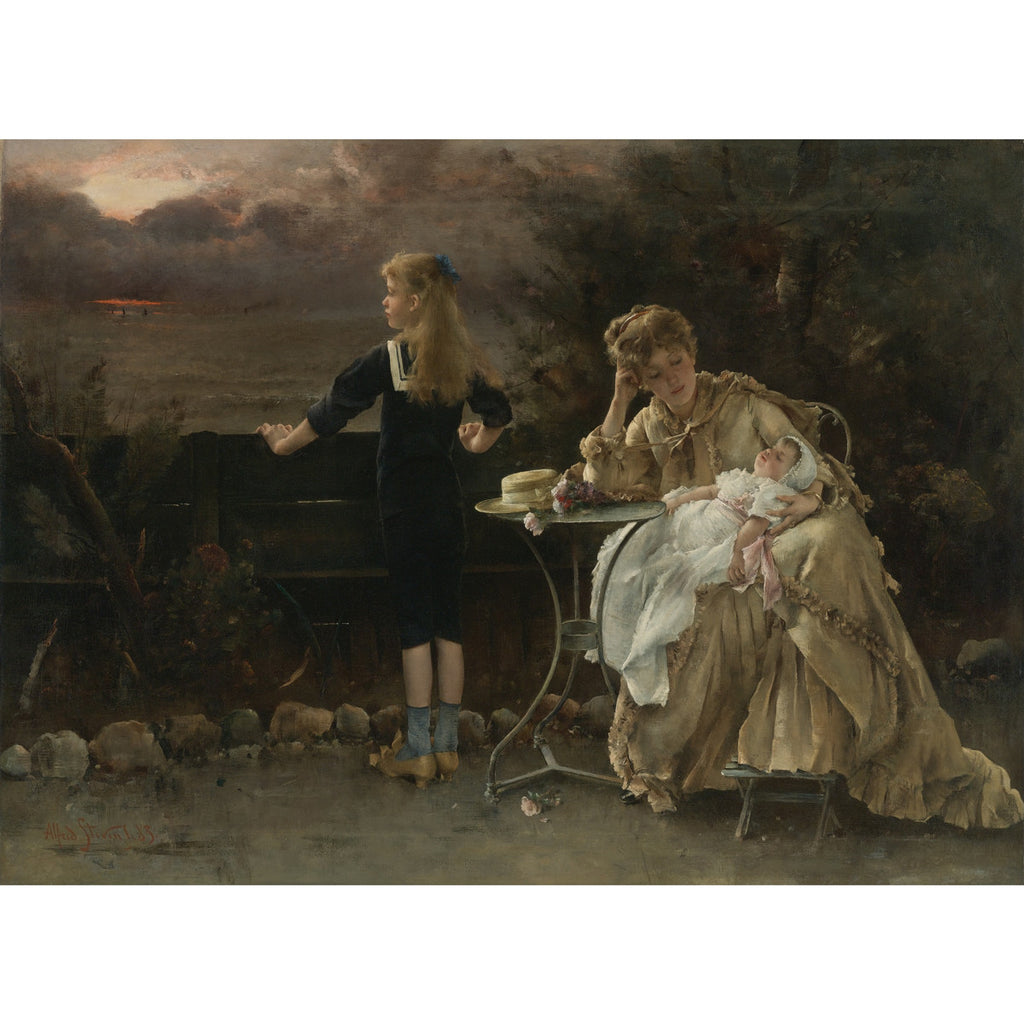 Alfred Stevens - Mother and her Children