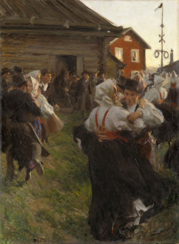 Anders Zorn - Mid Summer Dance