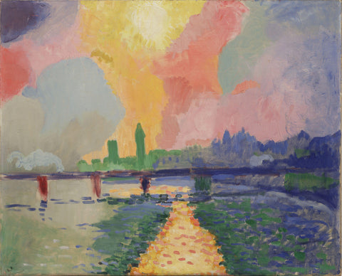 André Derain - Charing Cross Bridge