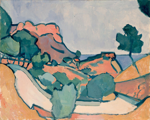 André Derain - Road Mountains