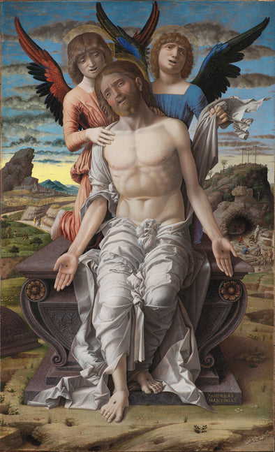 Andrea Mantegna - Christ as the Suffering Redeemer - Get Custom Art