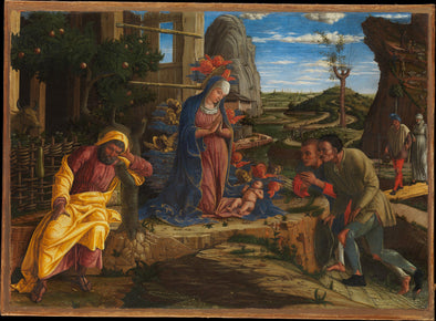 Andrea Mantegna - The Adoration of the Shepherds - Get Custom Art