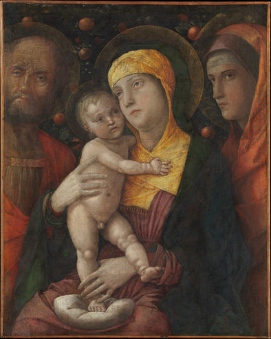 Andrea Mantegna - The Holy Family with Saint Mary Magdalen - Get Custom Art