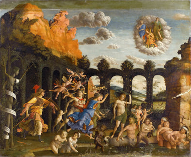Andrea Mantegna - Triumph of the Virtues - Get Custom Art