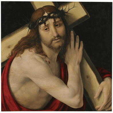 Andrea Solario - Christ Carrying The Cross - Get Custom Art