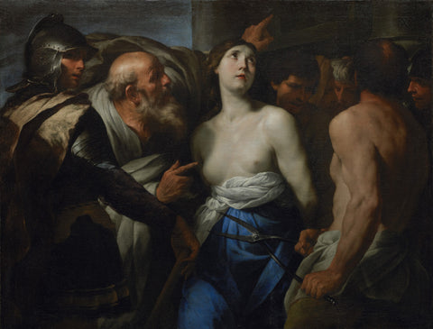 Andrea Vaccaro - Martyrdom of St. Agatha