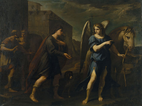 Andrea Vaccaro - Tobias Meets the Archangel Raphael