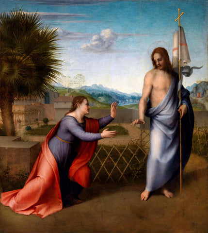 Andrea del Sarto - The Appearance of the Resurrected Christ to Mary Magdalene