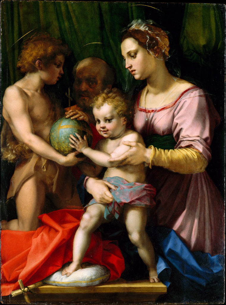 Andrea del Sarto - The Holy Family with the Young Saint John the Baptist