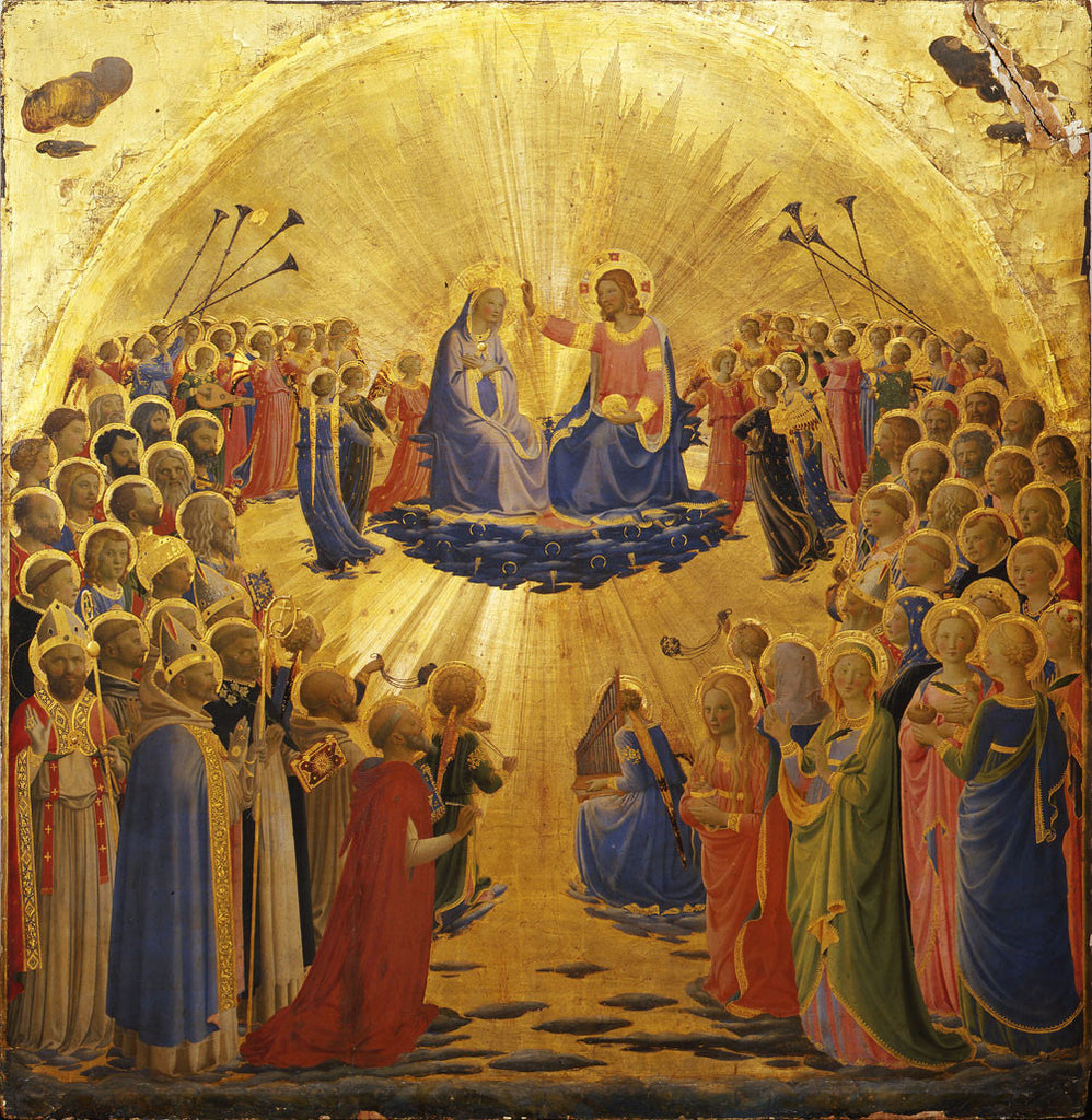 Angelico Fra - The Coronation of the Virgin