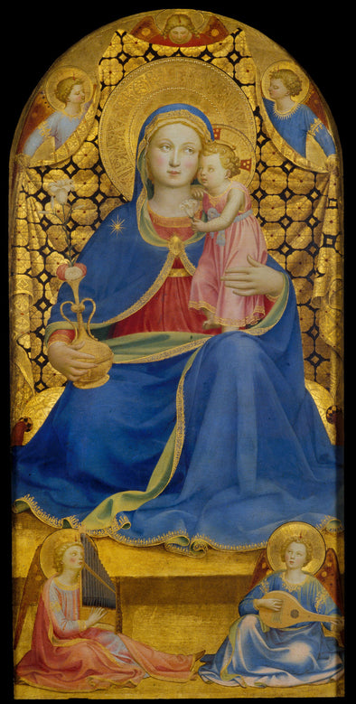 Angelico Fra - Virgin of Humility