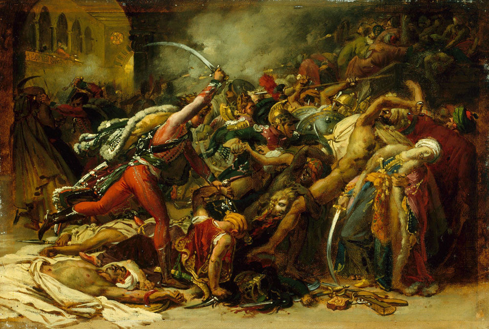 Anne-Louis Girodet de Roussy-Trioson - The Revolt of Cairo