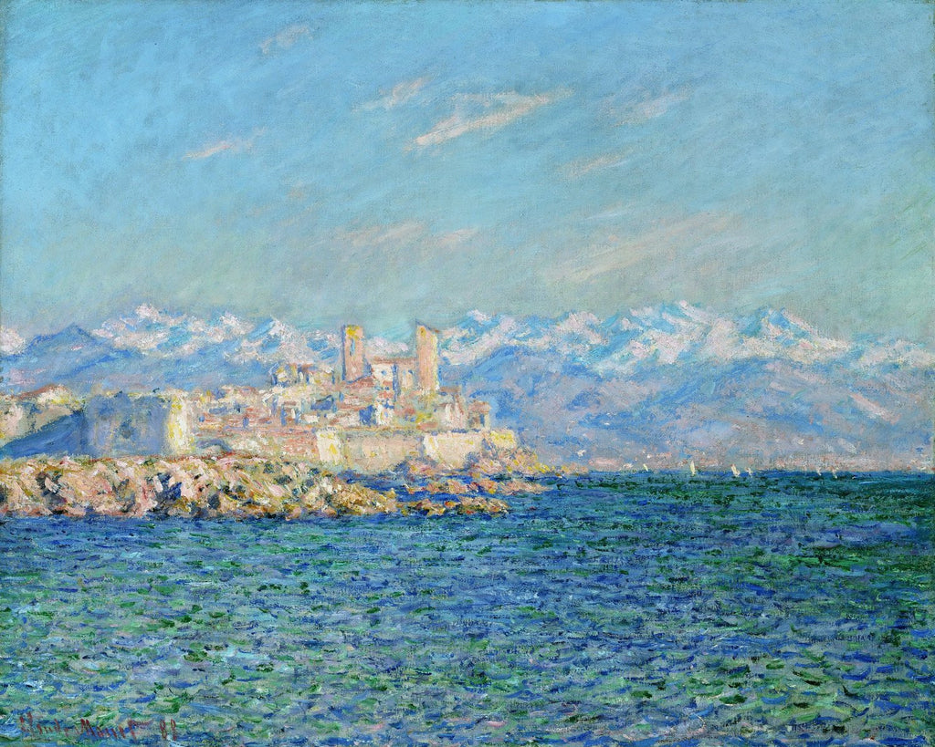 Monet - Antibes Afternoon Effect
