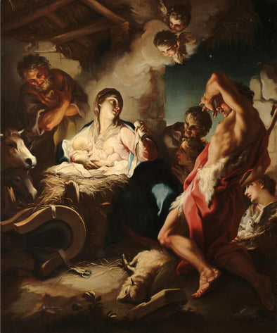 Antonio Balestra - The Adoration of the Shepherds - Get Custom Art