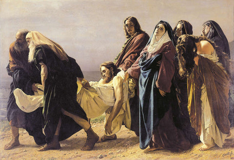 Antonio Ciseri - The Deposition of Christ