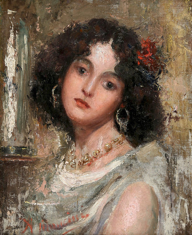 Antonio Mancini - The Italian Beauty