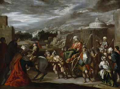 Antonio de Bellis - The Triumph of Joseph in Egypt - Get Custom Art