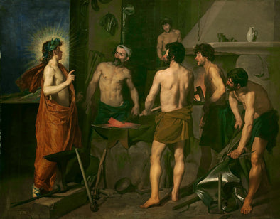 Diego Velázquez - Apollo in the Forge of Vulcan