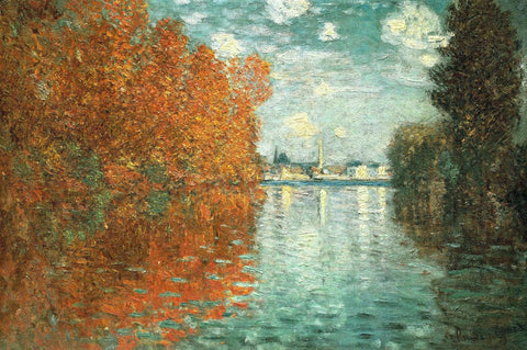 Monet - Autumn Effect at Argenteuil
