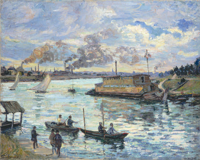 Armand Guillaumin - River Scene