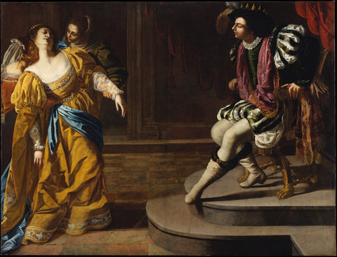 Artemisia Gentileschi - Esther before Ahasuerus