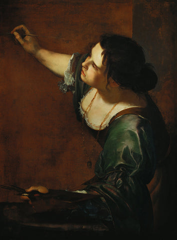 Artemisia Gentileschi - Self Portrait as the Allegory of Painting