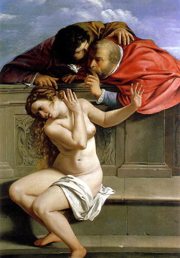 Artemisia Gentileschi - Susanna and the Elders