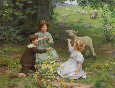 Arthur John Elsley - The Joy of Spring