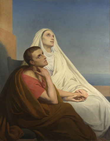 Ary Scheffer - Saints Augustine and Monica