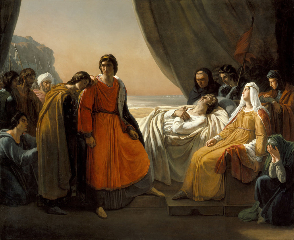 Ary Scheffer - The Death of Saint Louis