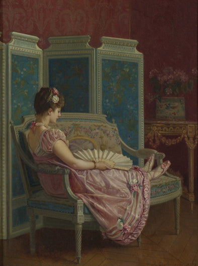 Auguste Toulmouche - Idle Thoughts - Get Custom Art