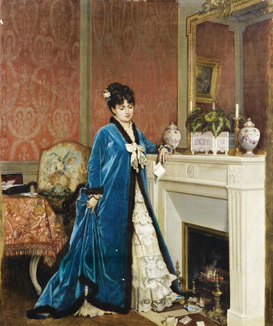 Auguste Toulmouche - The Letter - Get Custom Art