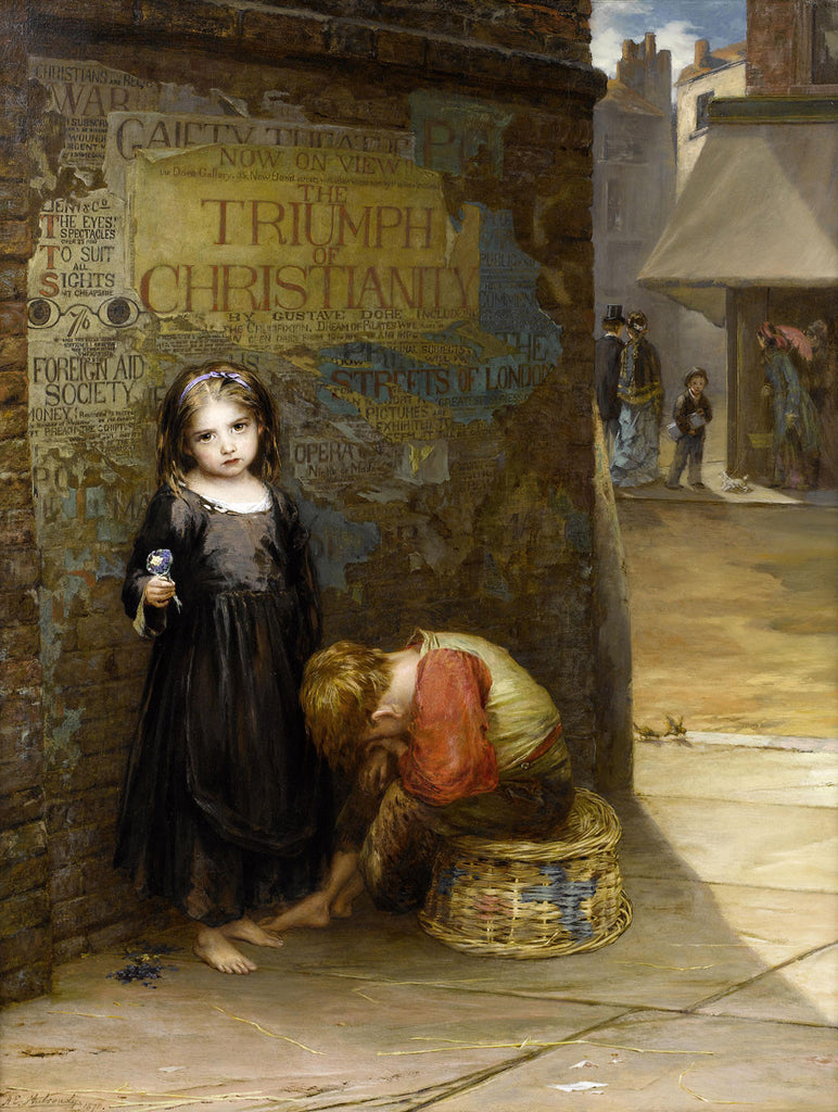 Augustus Edwin Mulready - Uncared for