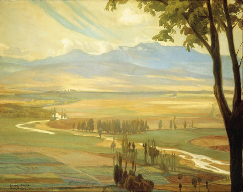 Diego Rivera - Avila Morning (The Ambles Valley)