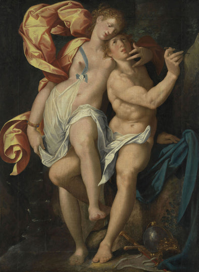Bartholomeus Spranger - Angelica and Medoro